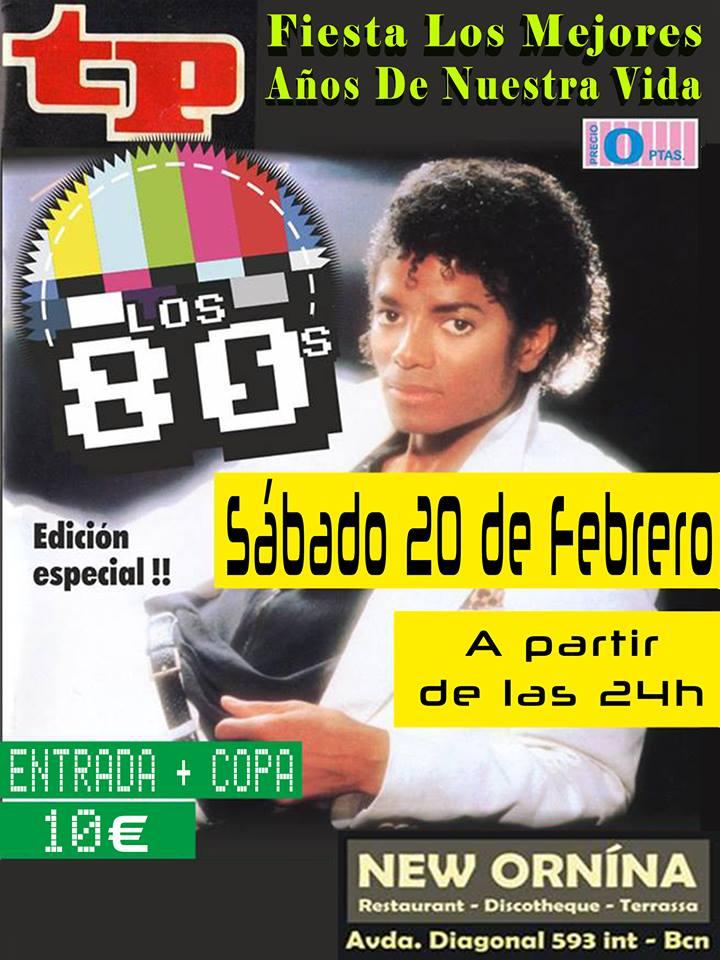 Flyer Fiesta Los Mejores Años De Nuestra Vida