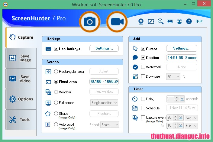 ScreenHunter Pro 7.0.991 Full Cr@ck – Phần mềm chụp ảnh quay video màn hình chuyên nghiệp