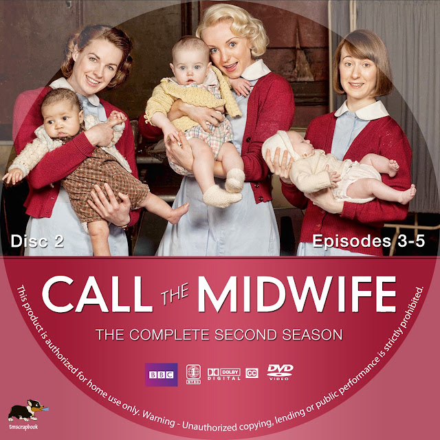 Call The Midwife Season 2 Disc 2 DVD Label