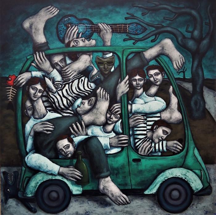 Французский художник. Nicolas Monjo
