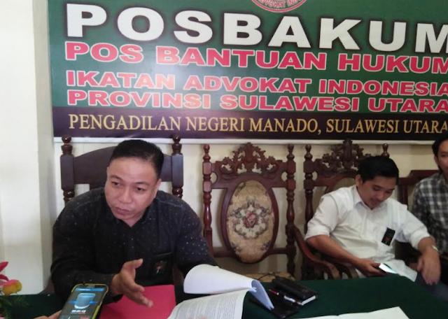 Posbakum PN Manado, Tindangen : Ada Kelalaian Tugas Dari Advokat DL