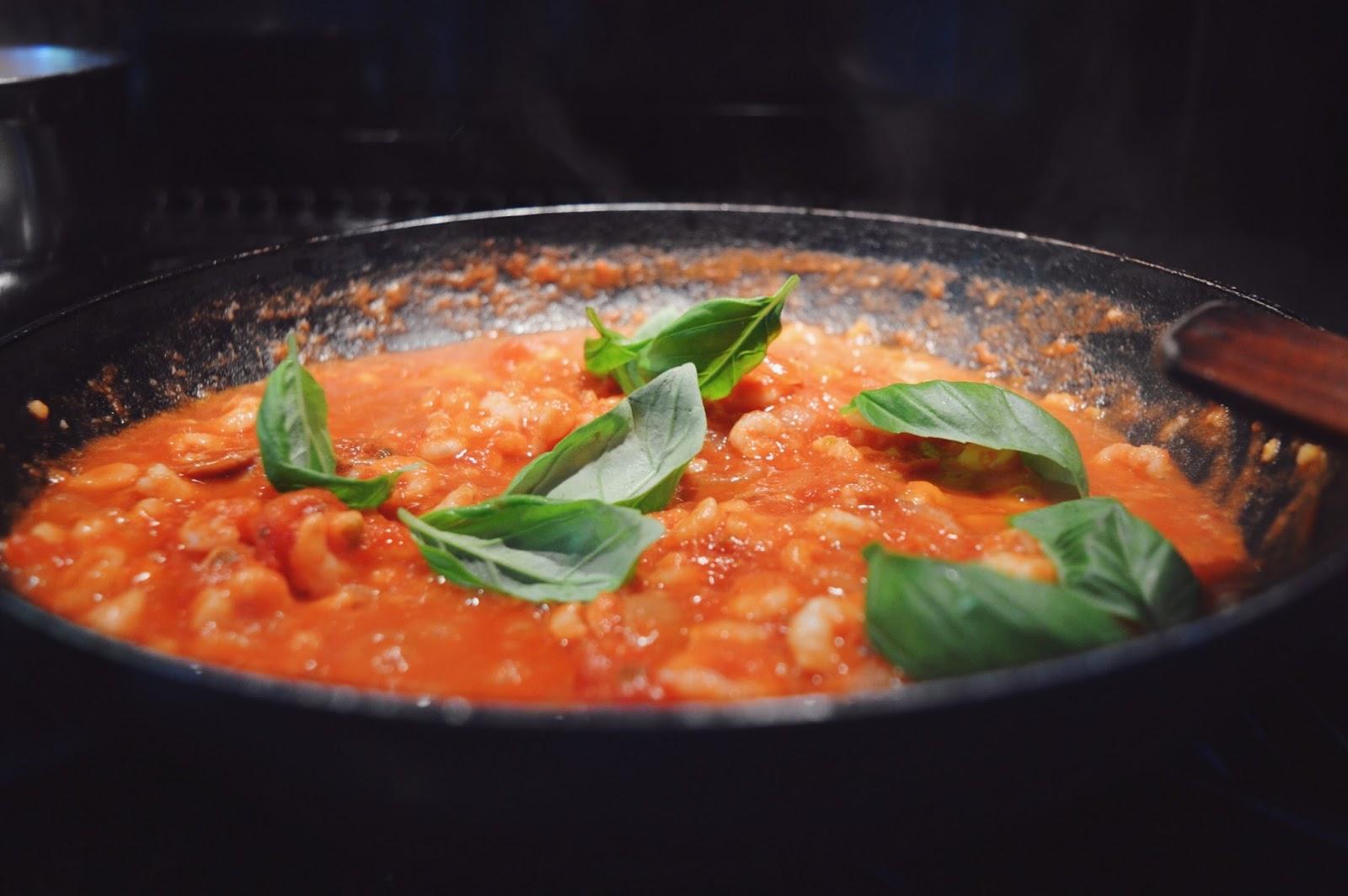 Arrabiata pasta recipe, FashionFake, food bloggers, DegustaBox review