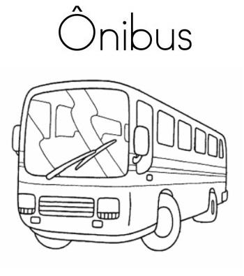 Blog De Geografia Onibus Desenho Para Imprimir E Colorir