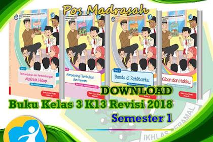 #Buku K13 Kelas 3 Semester 2 Revisi 2018 SD/ MI Terbaru