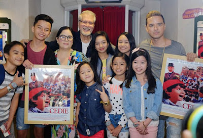 The Original Cast of Cedie with Team YeY