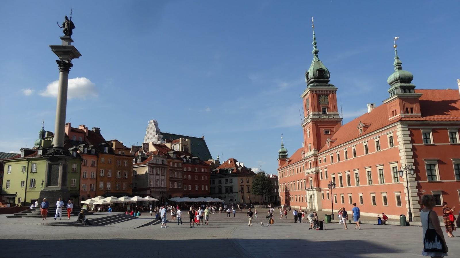 Tommy的波蘭部落格: 【華沙舊城與新世界大道】~波蘭中部旅遊景點