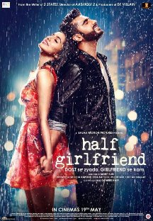 Arjun Kapoor First Look in Upcoming Movie Half Girlfriend with Shraddha Kapoor and release date, Star Cast 2016