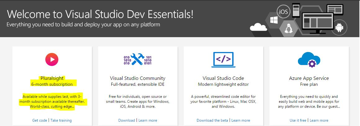 How to Signup for Free Pluralsight courses for MSDN Subscribers