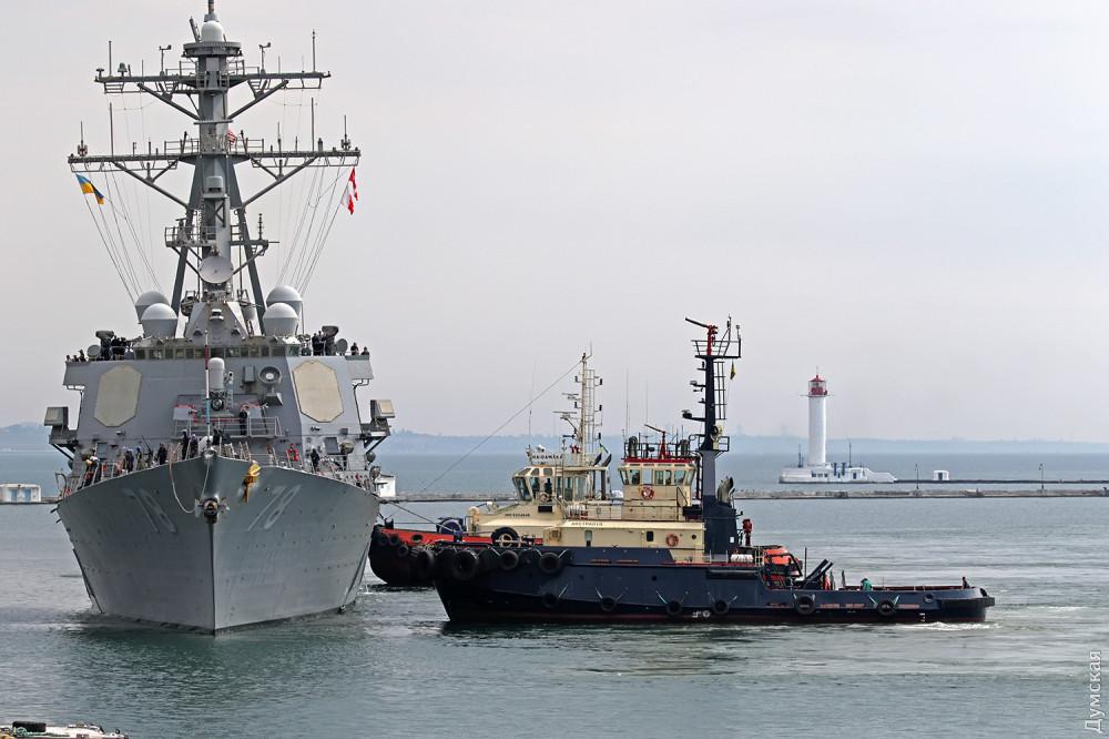 Американський ракетний есмінець USS Porter прибув до Одеси
