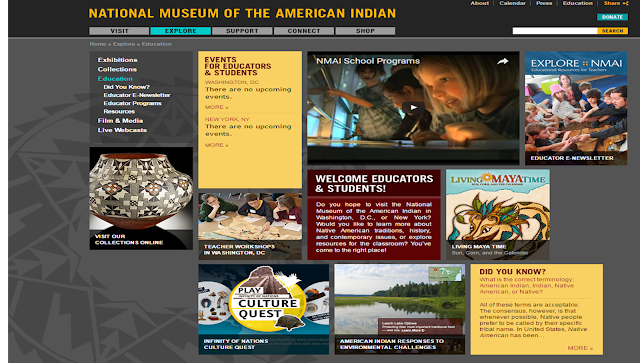 National Museum of the American Indian Educational Resources