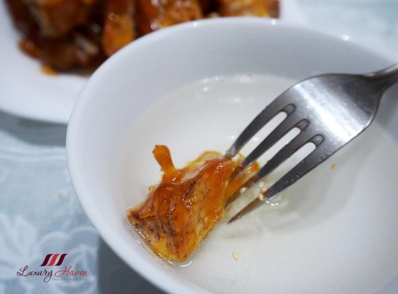 chinese snacks sugar coated yam fries recipe