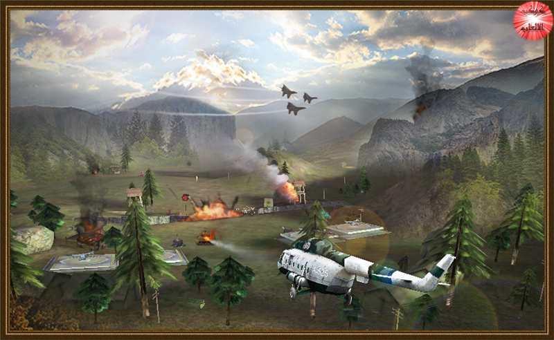 العاب اندرويد  Download Gunship Strike 3D games
