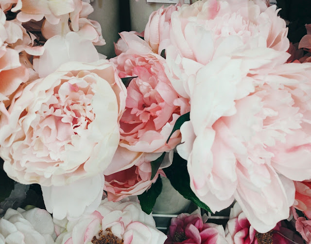 fake peonies from michaels