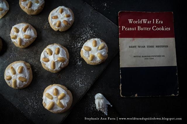 World War 1 Peanut Butter Cookie Recipe