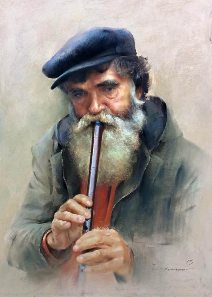 Иранский художник. Javad Soleimanpour