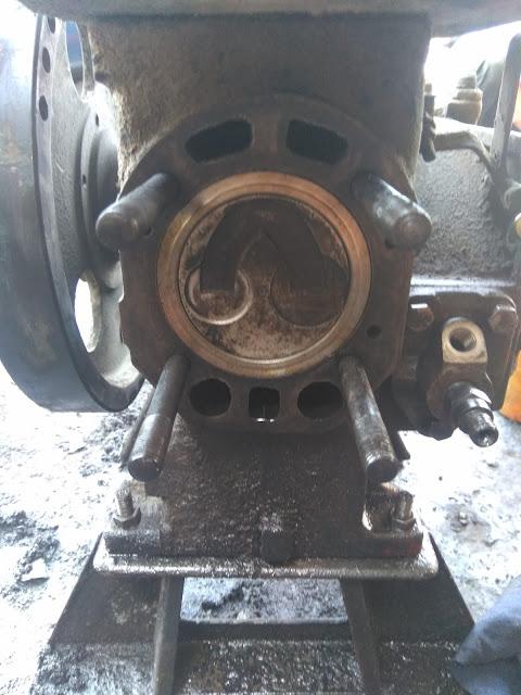 penyebab mesin diesel macet