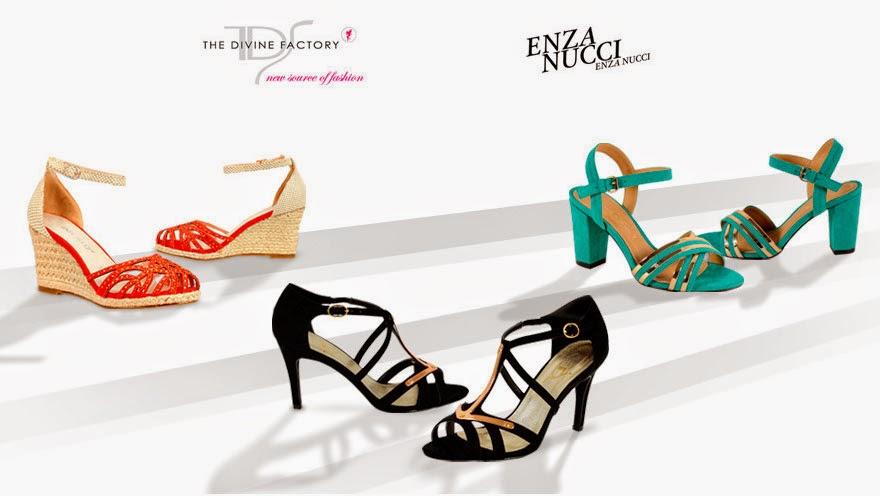 Zapatos de oferta de la marca The Divine Factory este verano