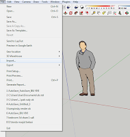 import file dwg to sketchup