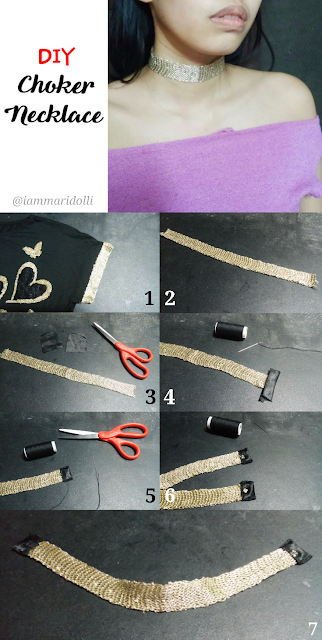 DIY Choker Necklace