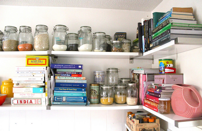 b&q kitchen makeover budget how to cupboard paint renovation shelving