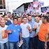 Na Zona Leste de Manaus, o candidato ao Governo David Almeida (PSB 40) leva propostas aos moradores contra insegurança pública