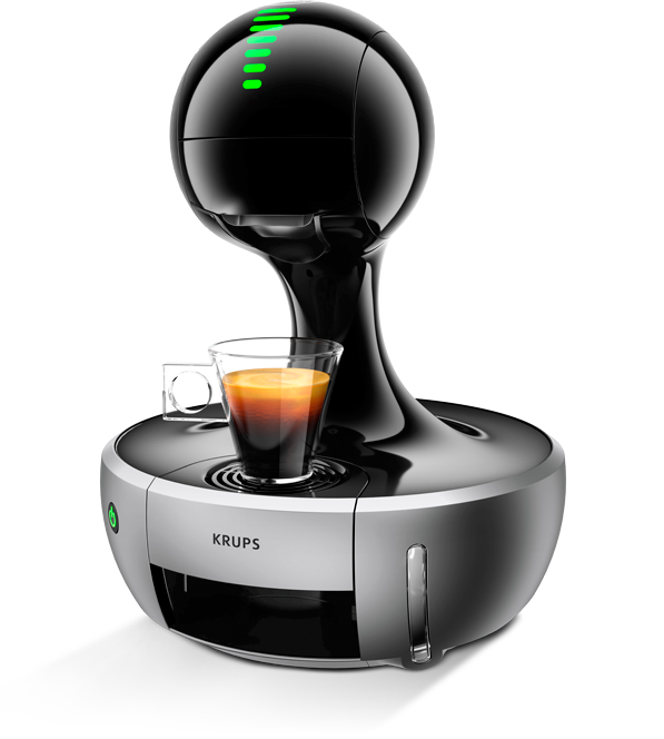 review krups dolce gusto drop the test pit. Black Bedroom Furniture Sets. Home Design Ideas
