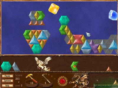 魔力鑲嵌(Magic Inlay),很特別的益智寶石鑲嵌!