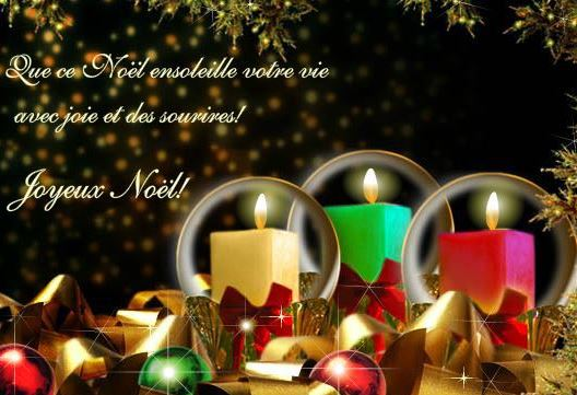 Christmas Greetings Wishes in French language