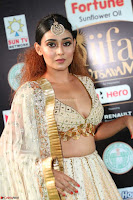 Apoorva Spicy Pics in Cream Deep Neck Choli Ghagra WOW at IIFA Utsavam Awards 2017 08.JPG