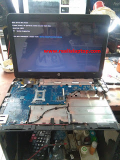 Serfis Laptop HP 1000 Mati Total