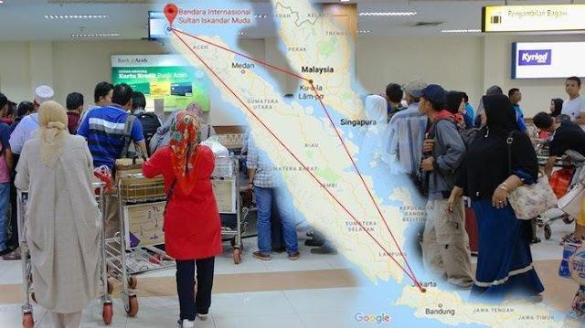 Tiket Pesawat Mahal, Warga Banda Aceh Temukan Solusinya: Buat Paspor untuk ke Jakarta