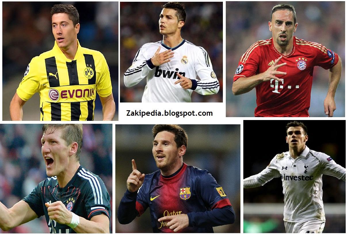 11 Pemain Terbaik Di Seluruh Liga Liga Eropa Musim 2012 2013