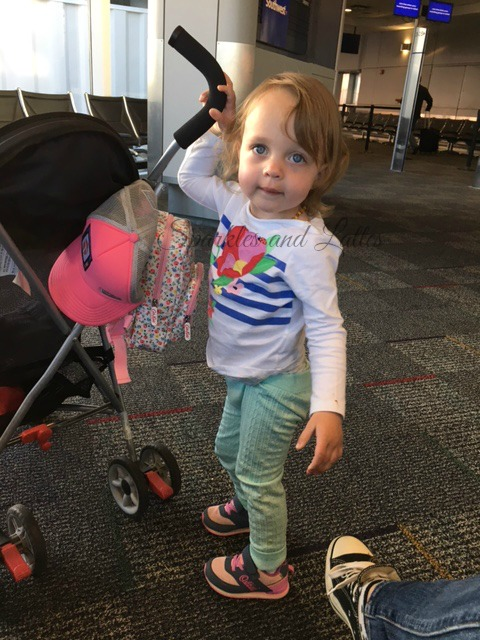 flying and traveling with toddlers