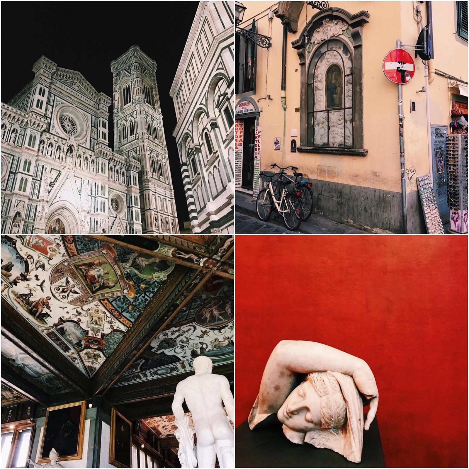 Florence Uffizi Gallery Duomo Instagram Photos