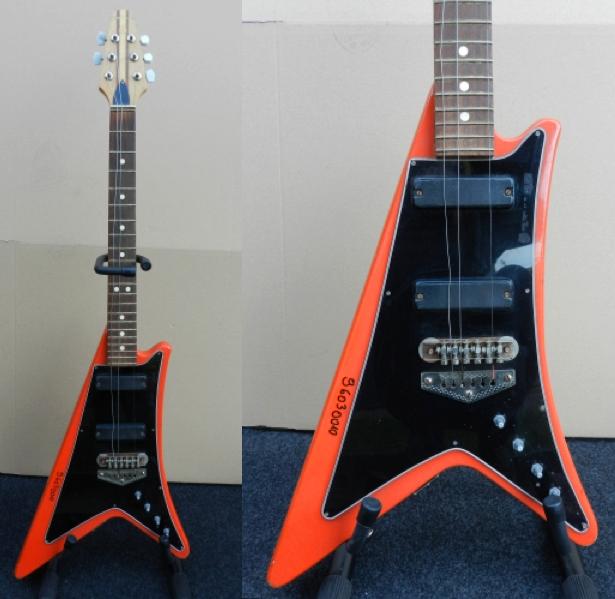 guitar blog defil kosmos a 1980s polish take on the gibson moderne. Black Bedroom Furniture Sets. Home Design Ideas