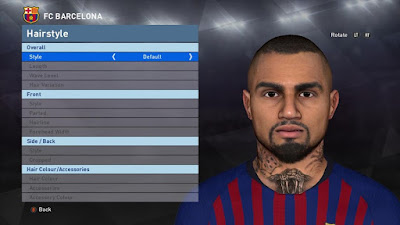 PES 2017 Faces Kevin-Prince Boateng by BenHussam