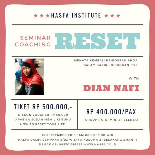 Seminar & Coaching RESET