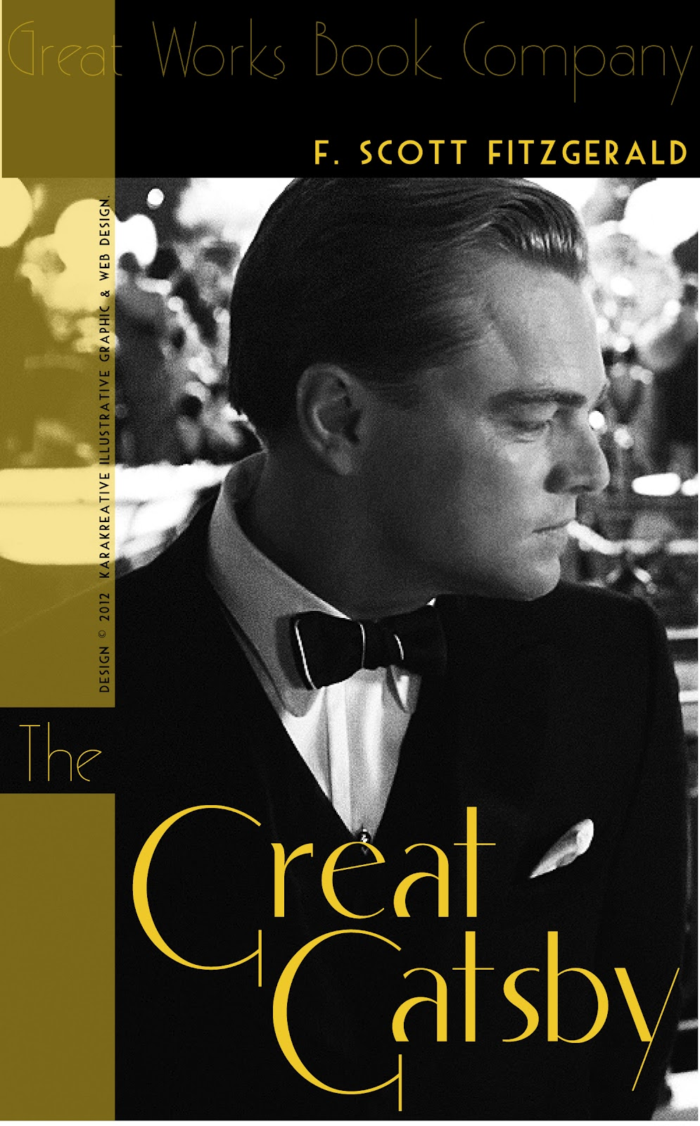"""KaraKreative: """"The Great Gatsby"""" Book Covers and Movie ..."""