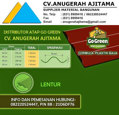 Spesifikasi Atap Go Green