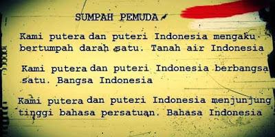 sumpah pemuda cinta bahasa indonesia