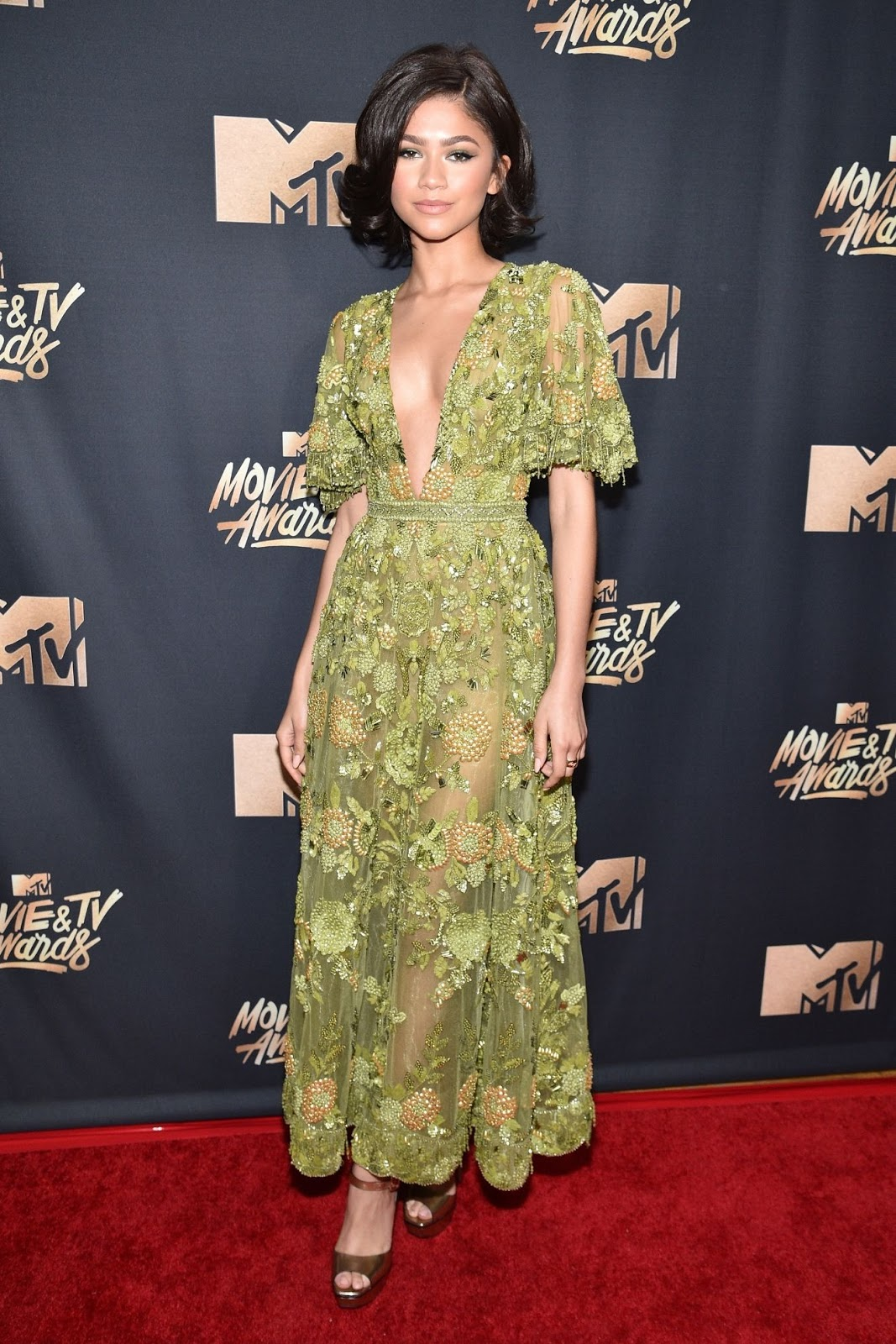 mtv movie awards zendaya melhor look
