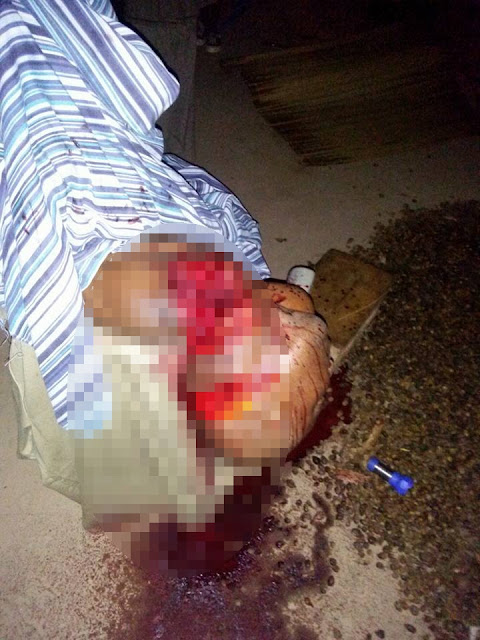 Graphic Photos: Man Slaughters Every Member Of His Family While They Having Their Dinner
