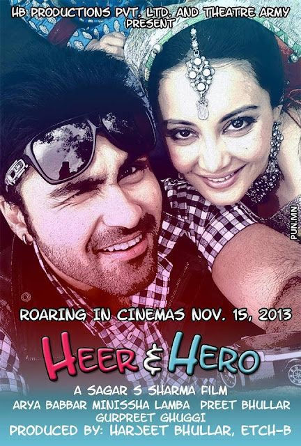HEER & HERO - Aarya Babbar and Minisha lamba