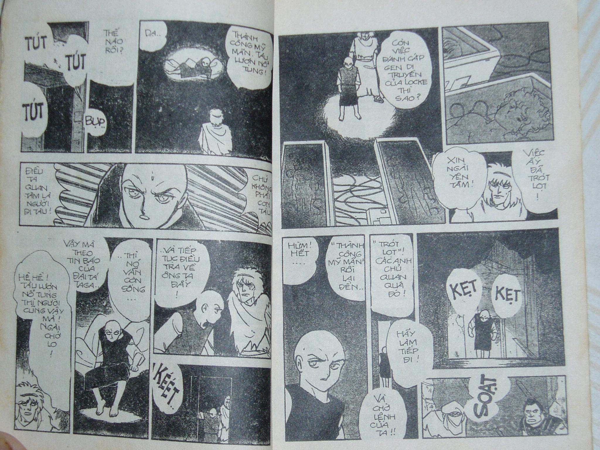 Siêu nhân Locke vol 13 trang 8