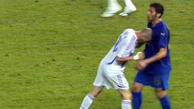Penyesalan Tiada Akhir Zidane: Menanduk Materazzi