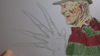 freddy krueger artwork
