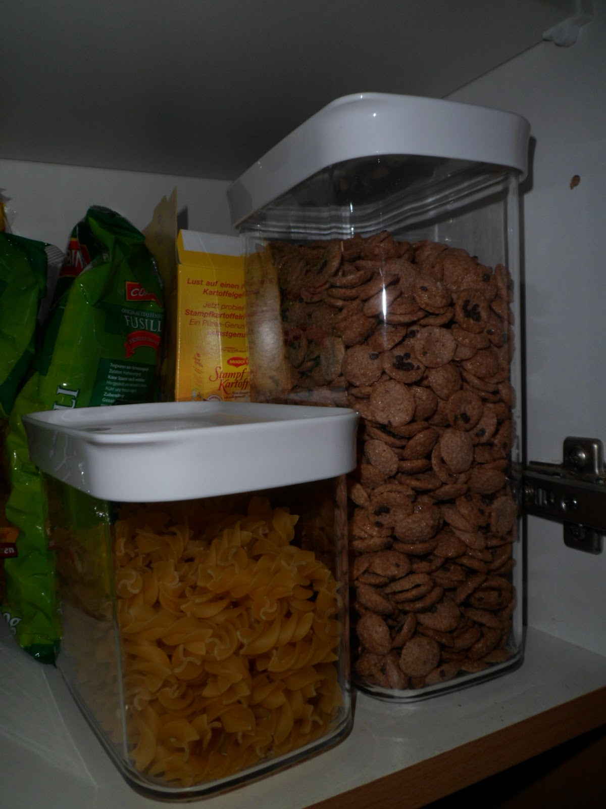 dosen container lagerung