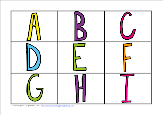 FREEBIE Alphabet Race