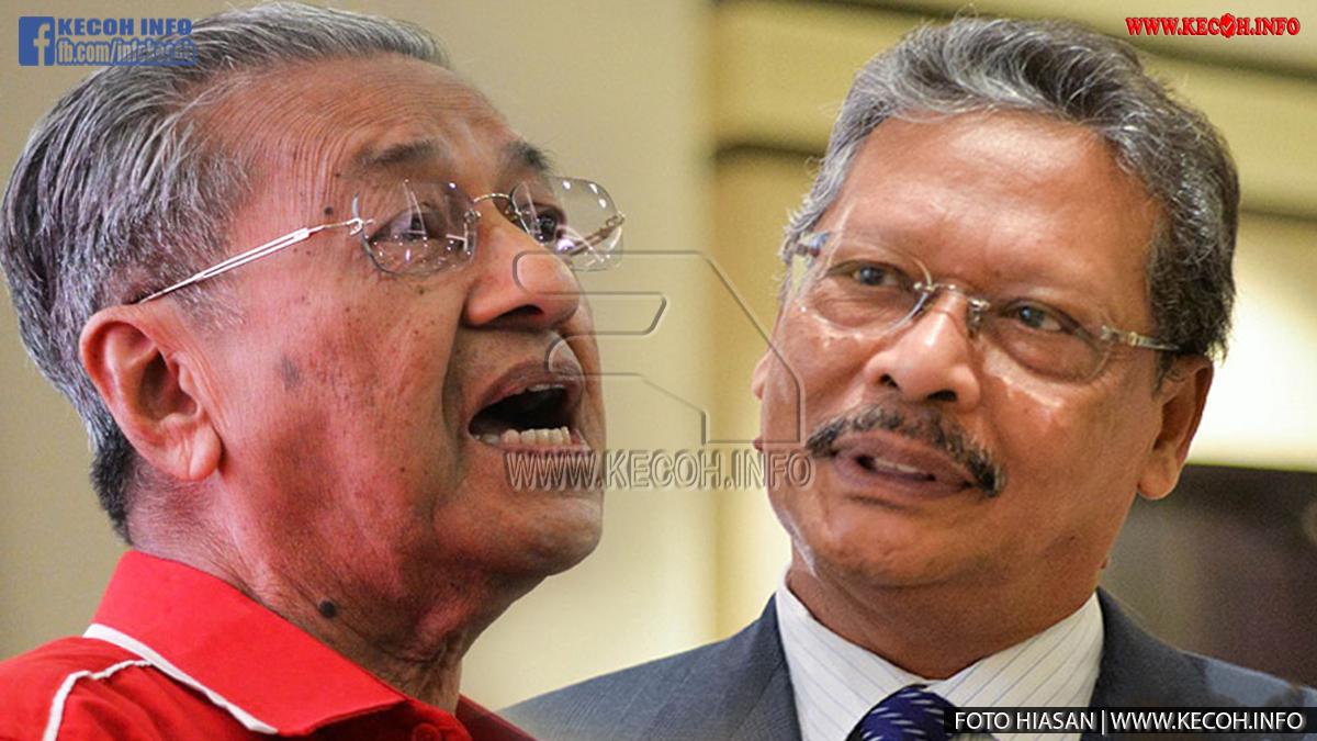 Peguam Negara Tan Sri Mohamed Apandi Ali Kena 'bullshit' Dengan Tun Dr Mahathir Mohamad