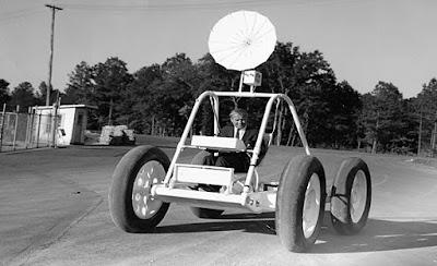 Encuentran un prototipo Rover Lunar en una chatarrería